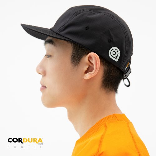 RIPSTOP CORDURA CAMP CAP - BLACK