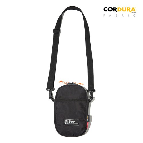 RIPSTOP CORDURA MINI CROSS BAG - BLACK