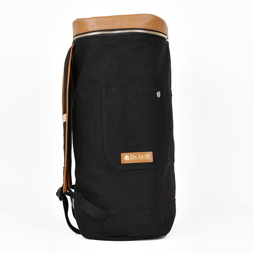 CANVAS DUFFLE BAG BLACK