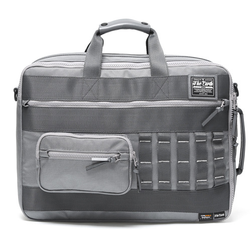 BLACK LABEL 3 WAY BRIEFCASE - GREY