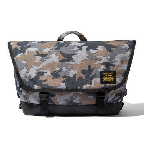 COMFORT MESSENGER BAG - CAMO